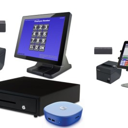New 2 Station Blackfish POS Restaurant System