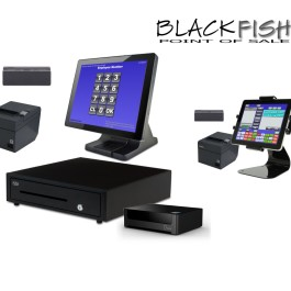 2 Station Blackfish Restaurant POS System with Tablet