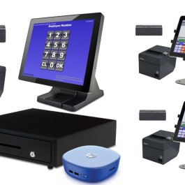 3 Station Blackfish Restuarant POS System with 2 Tablets