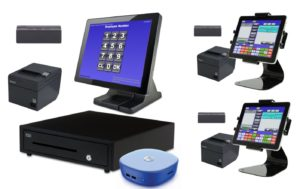 3 Station Blackfish POS System with 2 Tablets