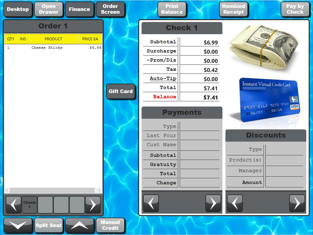 Blackfish SE Tablet Bar/Restaurant POS System – Saber POS