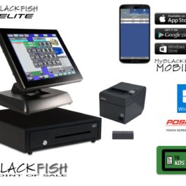 Elite Blackfish All-In-One Bar/Restaurant POS System
