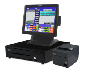 Complete All-In-One Blackfish POS System