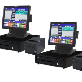 2 Station All-In-One Blackfish Restaurant POS System