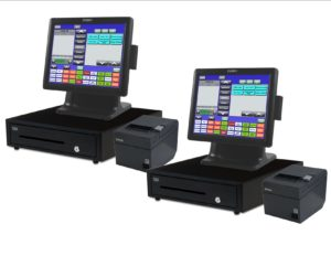 Complete 2 Station All-In-One Blackfish POS System