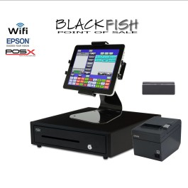 Complete New Tablet Blackfish Bar/Restaurant POS System Touchscreen Windows 8.1