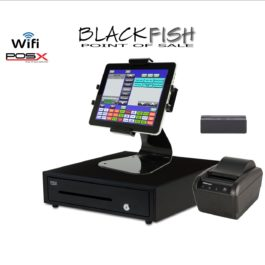 Complete Tablet Blackfish Bar/Restaurant POS System Touchscreen Windows 10