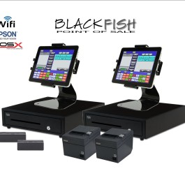 2 Station Tablet Bar Restaurant POS System