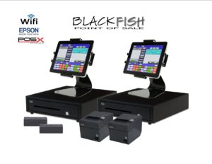 2 Station Tablet Bar/Restaurant POS System