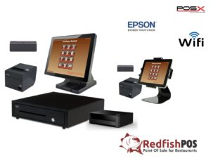 2 Station Redfish POS System with Tablet