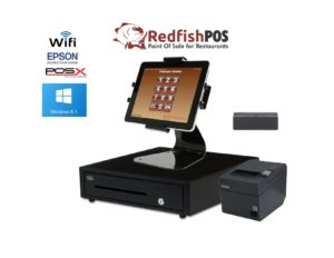 1 Station Redfish Tablet Bar/Restaurant POS System