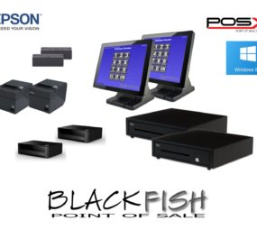 2 Station Complete Blackfish Bar/Restaurant POS System