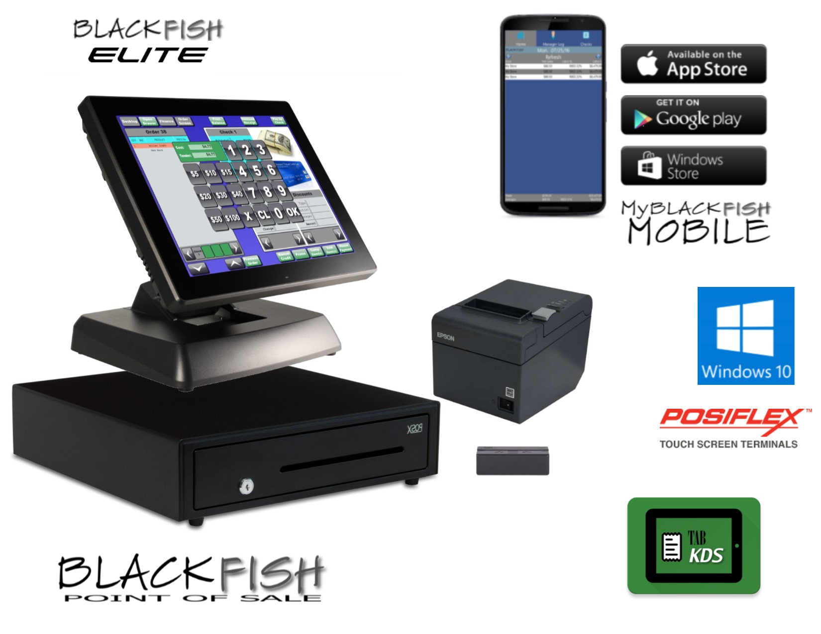 All-in-one POS Systems