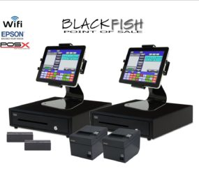 2 Station New Blackfish Bar Restaurant  Tablet POS System