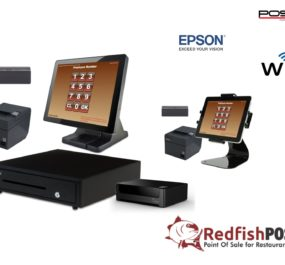 2 Station Restaurant POS System with Tablet