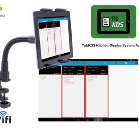 TabKDS Kitchen Display Tablet System